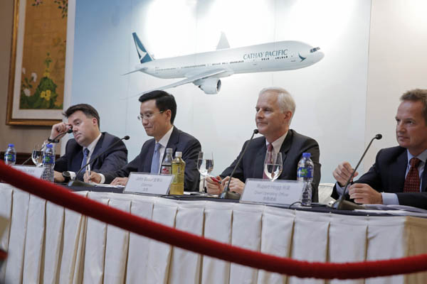 Cathay plans 30 staff cost cuts at head office under reform hk - Cathay pacific head office ...