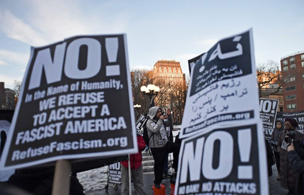 US appeals ruling against Trump's travel ban