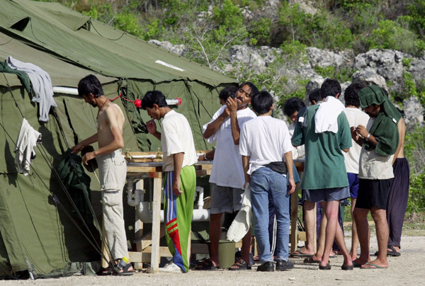 US officials fingerprinting refugee families on Nauru