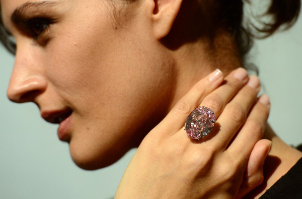 Sotheby's to auction US$60m 'Pink Star' diamond