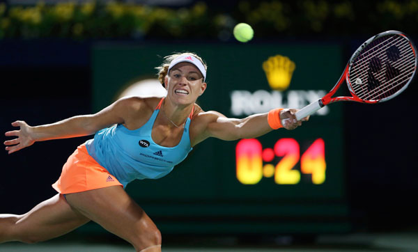 Angelique Kerber retakes No 1 ranking from Serena Williams