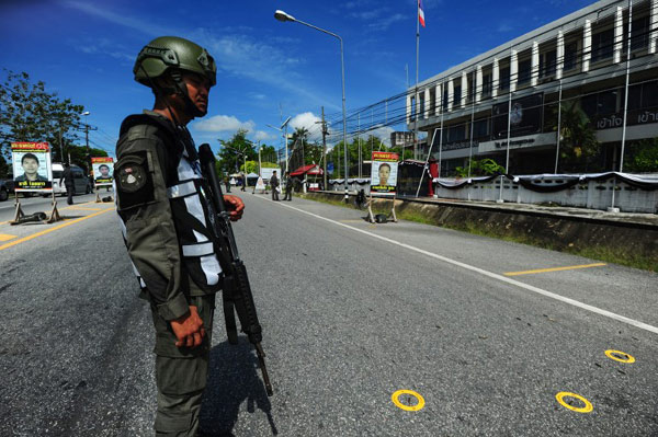 Wave of attacks strike southern Thailand