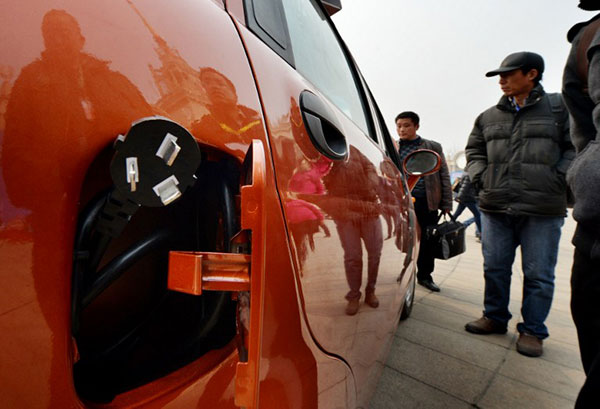 China aims to become world auto-making powerhouse