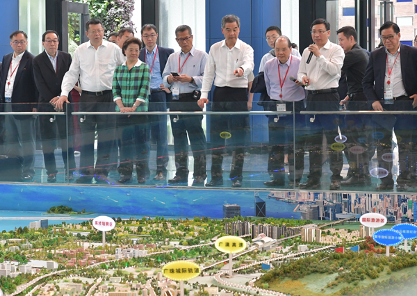 CE: HK should play role in planning for Greater Bay Area