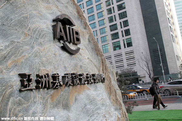 AIIB should be platform for US-China cooperation, says bank chief
