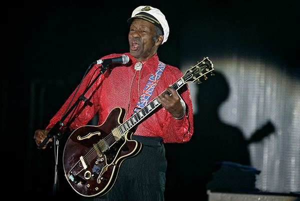 Rock 'n' roll pioneer Chuck Berry dead at 90