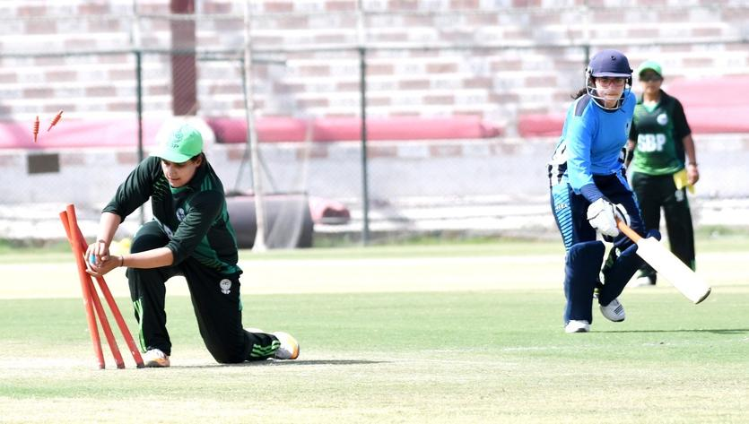 PAKISTAN: The girls in green