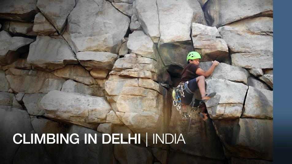 Climbing in Delhi: Asia Featured