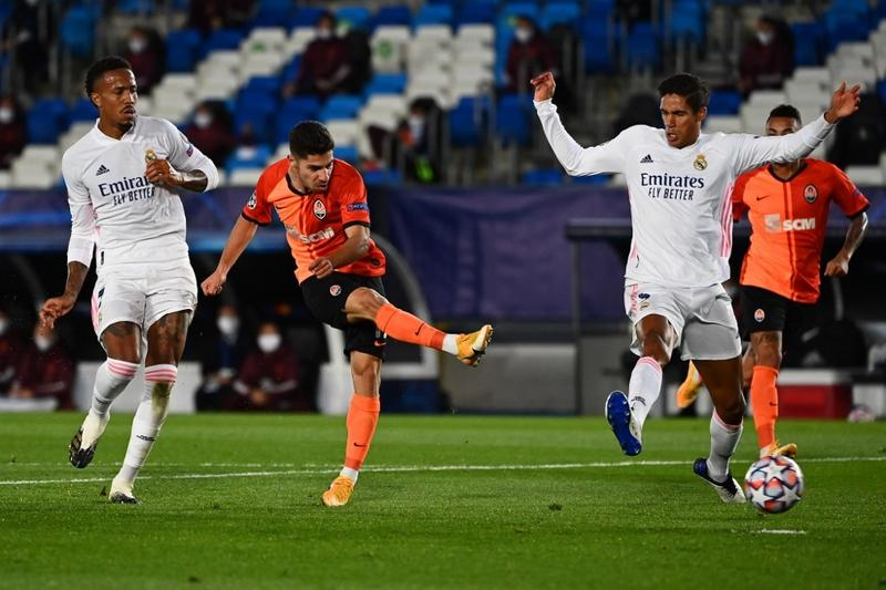 Real Madrid left shellshocked by depleted Shakhtar in CL | Sports | China Daily